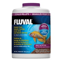 Fluval Cichlid Medium Sinking Pellets - 340 g (12 oz)