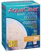 AquaClear 30 Ammonia Remover Filter Insert 3 pack, 363g (12.8oz)