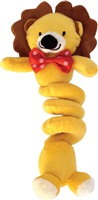 Dogit Christmas Luvz Dog Toy - Bungee Toy, Lion