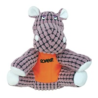 Bomber by Zeus Special Forces Team Dog Toy - Tank the Hippo - Small - 15 cm (6 in)