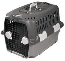 "Dogit Design Cargo Dog Carrier-Gray, Small (68 cm L x 49 cm W x 48 cm H / 27"" x 19.5"" x 19"")"