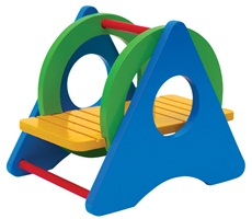 "Living World Playground Swing - 8.5 x 12.5 x 9.5 cm (3.3 x 4.9 x 3.7"")"