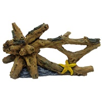 Marina Driftwood with Starfish, Large