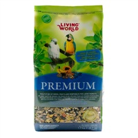 Living World Premium Mix For Large Parrots - 3.7 lb