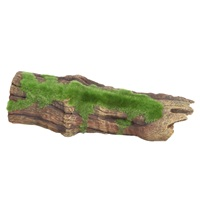 "Fluval Brown Driftwood Replica with Moss - Medium - 22.5 x 9 x 6 cm (8.8"" x 3.5"" x 2.4"")"