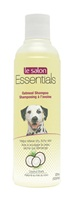 Le Salon Essentials Oatmeal Shampoo, helps relieve dry itchy skin, coconut scent, 375mL (12.6 fl oz) bottle