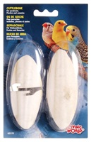 "Living World Cuttlebone with Holder Small - 12.5 cm (5"") Twinpack"