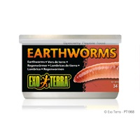 Exo Terra Canned Earthworms - 34 g (1.2 oz)