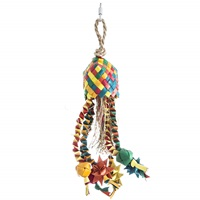 HARI Rustic Treasures Bird Toy Star Basket - Small