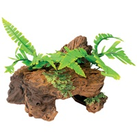 Marina Naturals Malaysian Decorative Driftwood with Plants, Small