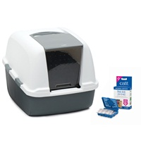 Catit Magic Blue Litter Box - Jumbo