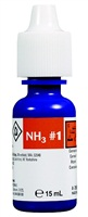 Nutrafin Ammonia fresh and saltwater reagent #1 refill, 15 mL (0.5 fl oz)