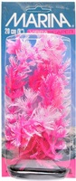 Marina Vibrascaper Plastic Plant, Foxtail Hot Pink-White, 20 cm (8 in)
