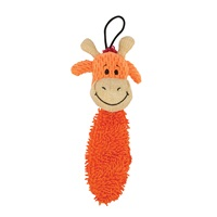 Zeus Mojo Naturals Thin Noodle Tails - Elephant & Giraffe - Assorted - 19 cm (7.5 in)