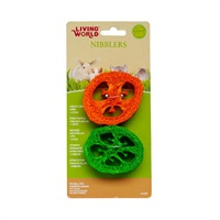 Living World® Nibblers Slices Loofah Chews