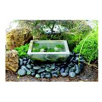 """Laguna Water Bowl Square, 8"""" x 22.5"""""""