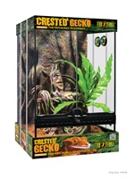 Exo Terra® Crested Gecko Habitat Kit - Small -  30 x 30 x 45