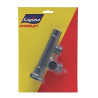"Laguna PowerJet Riser Pipe Flow Adjustor, ""T""  1.2 cm (1/2"")"
