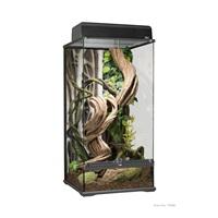 """Exo Terra Natural Glass Terrarium - Small - X-Tall - 45 x 45 x 90 cm (18"""" x 18"""" x 36"""")"""