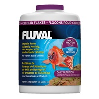 Fluval Cichlid Flakes, 140 g (4.94 oz)
