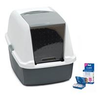Catit Magic Blue Litter Box - Regular