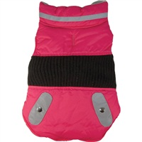 Dogit Style Fall/Winter 2011 Small Dog Clothing Collection - Sport Utility Vest, Pink, Medium