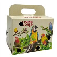 Living World Bird Carrier Cardboard Box