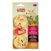 Living World Wheel Delights, Apple/Banana/Orange, 2-pack
