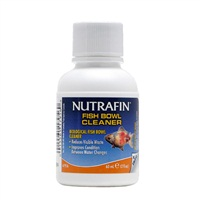 Nutrafin Fish Bowl Cleaner - Biological Fish Bowl Cleaner, 60 mL (2 fl oz)