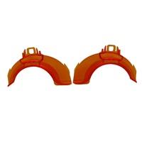 Habitrail OVO Orange Left/Right Joints