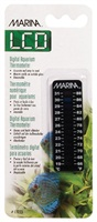Marina LCD Aquarium Thermometer-Centigrade-Fahrenheit, 19 to 31° C (66 to 88° F)