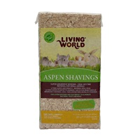 Living World Aspen Shavings 20 L (1200 cu in)