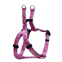 Dogit Style Adjustable Step In Dog Harness, Aloha, Pink, Small