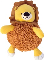 "Dogit Christmas Luvz Dog Toy - Plush Ball, Lion, Large (25.5 cm / 10"")"