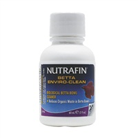Nutrafin Betta Enviro-Clean 60 mL (2 fl oz)Biological Betta Bowl Cleaner