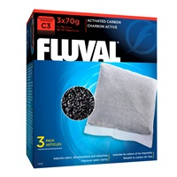 Fluval Carbon for C3 Power Filters, 3 Pack