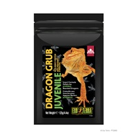 Exo Terra Dragon Grub Insect Formula Pellets for Juvenile Bearded Dragons - 125 g (4.4 oz)