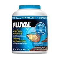 Fluval Tropical Small Sinking Fish Pellets, 90 g (3.17 oz)