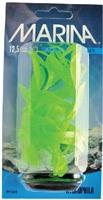Marina Vibrascaper Plastic Plant, Hygrophilia Green-Dayglo, 12.5 cm (5 in)