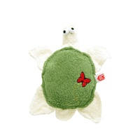 "Dogit Eco Terra Toys Natural Bamboo Fiber Dog Toy, Turtle (25.4 cm/10"")"