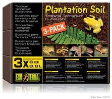 Exo Terra Plantation Soil 3 x 8qt / 3 x 8.8L