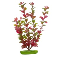 Marina Aquascaper Plastic Plant, Red Ludwigia, 12.5 cm (5 in)