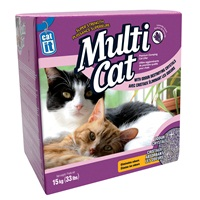 Catit Multi-Cat Cat Litter - Lavender Scent - 15 kg (33 lb)