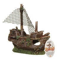 "Marina Pirate Ornament ""Sunken Galleon"", Small"