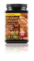 Exo Terra Bearded Dragon Soft Pellets - Juvenile - 8.8 oz - 250 g