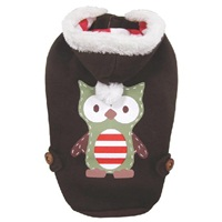 Dogit Christmas 2012 Small Dog Toy & Apparel Collection - Owl Hoodie, Medium