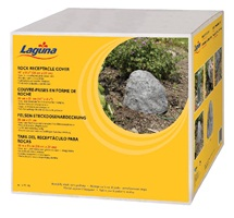 "Laguna Rock Receptacle Cover, small, 26 cm W x 21 cm H (10""x 8.5"")."