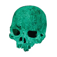 Exo Terra Glow-In-The-Dark Hide Out - Glow Skull