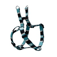 Dogit Style Adjustable Step In Dog Harness, Cobra, Blue, Small