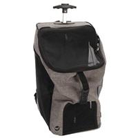 Dogit Explorer Soft Carrier 2-in-1 Wheeled Carrier/Backpack - Gray